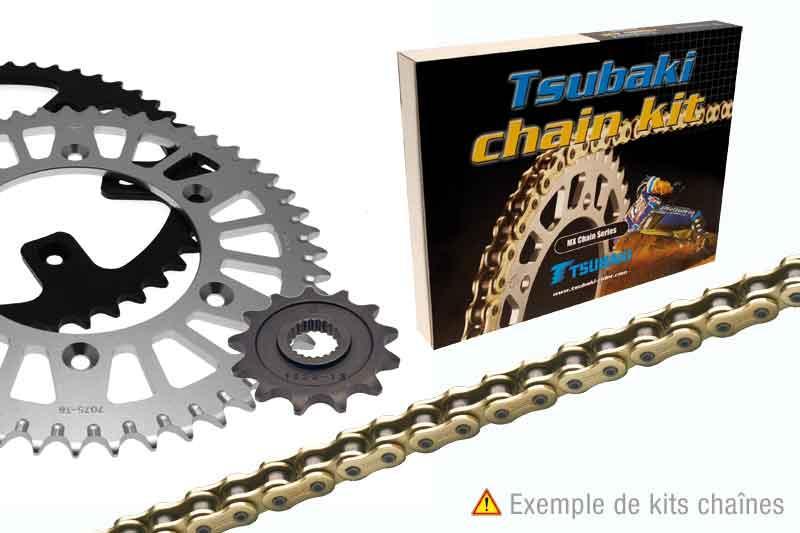 ツバキ チェーン Tsubaki Chain Kit (525-type OMEGA ORS)【ヨーロッパ直輸入品】 15 52