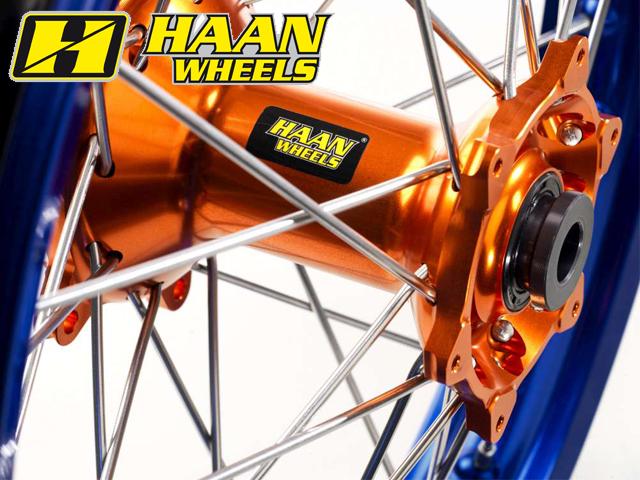 リアオフロードA60コンプリートホイール カラー:オレンジ ホイール本体 19インチ R2.15/ HAAN WHEELS 690 ハーンホイール (08-14)