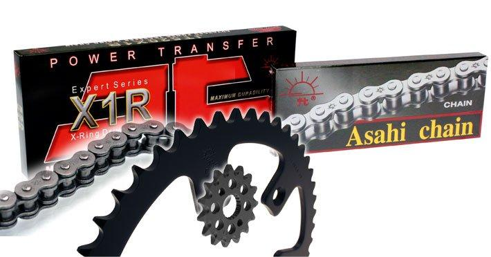 JT DRIVE CHAIN JTドライブチェーン JT チェーンスプロケットキット 13/48 GAS GAS【KIT FOR CHAIN JT 13/48 GAS GAS】【ヨーロッパ直輸入品】 COURONNE ALU