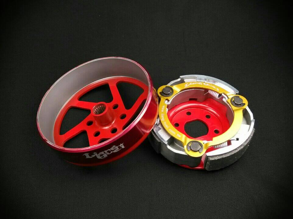 LiangHuei リャンフェイ その他スクーター駆動系 ハードタイプクラッチキット BWS 125 BWS R CYGNUS X GTR 125 GTR aero GTR FI Ray 125