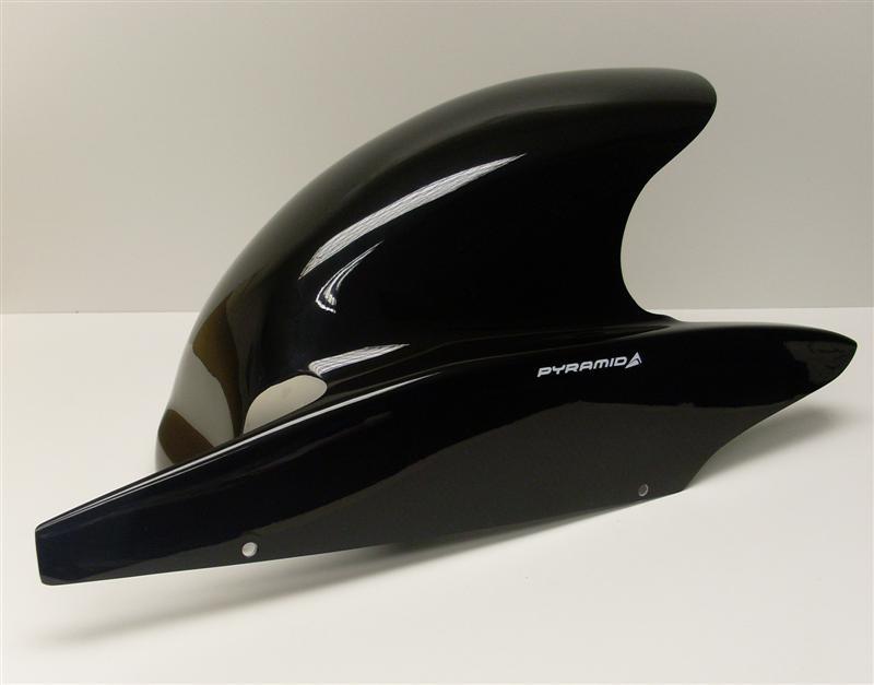 Pyramid Plastics ピラミッドプラスチック ブラック・リアフェンダー(BLACK HUGGER) ZZR600 ALL