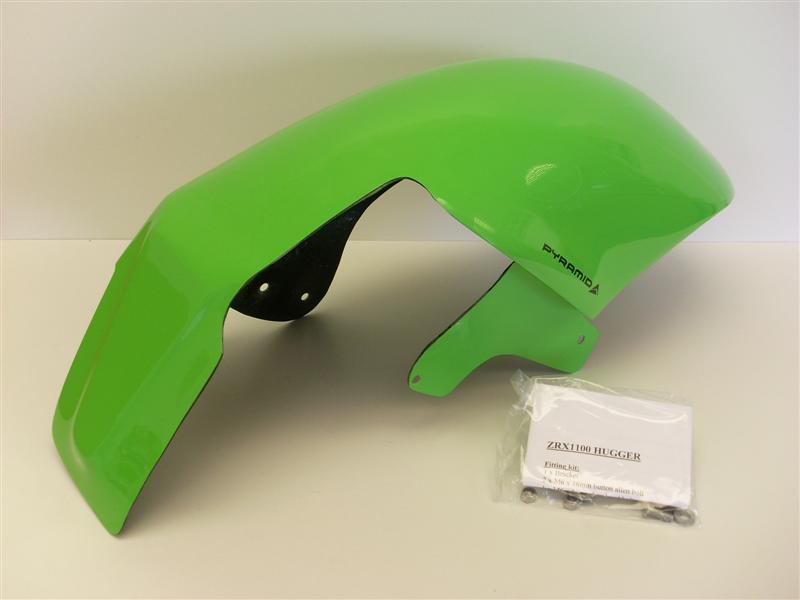 Pyramid Plastics ピラミッドプラスチック リアフェンダー(Hugger) カラー:Green ZRX1100 ALL