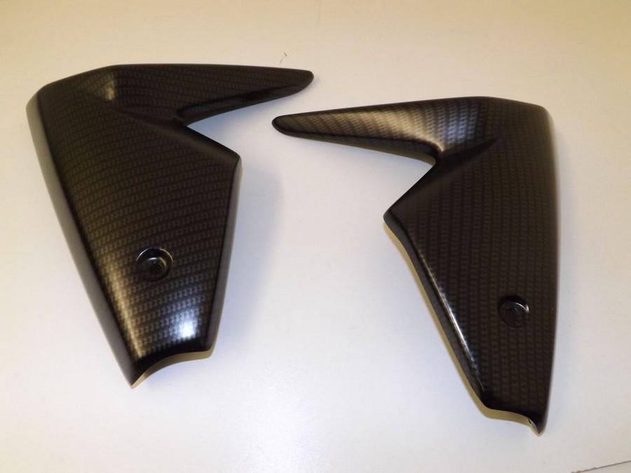 Pyramid Plastics ピラミッドプラスチック ラジエーター・チーク(ペア)(Radiator Cheeks (pair)) MT09 FZ09