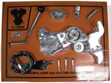 ガッツクローム GUTSCHROME ロッカークラッチキット 5速エボリューションソフテイル 86-99