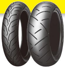 DUNLOP ダンロップ D204 【180/55ZR17 M/C (73W) TL】 タイヤ