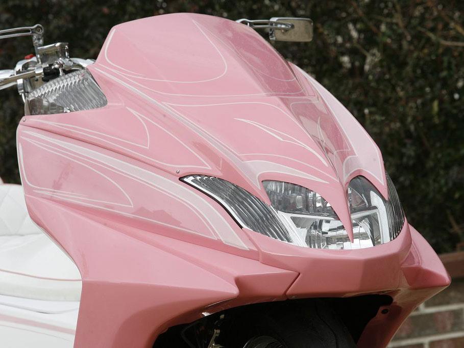 KOTANI MOTORS コタニモータース スクーター外装 MAXAM用 デビルサイドカウル MAXAM [マグザム] SG21J