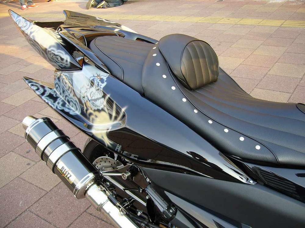 KOTANI MOTORS コタニモータース スクーター外装 新型マジェスティ用 デビルリアサイドカウル MAJESTY250 [マジェスティ] (SG20J)