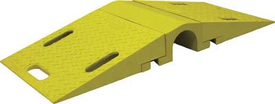 TRUSCO トラスコ中山 工業用品 CHECKERS ホースブリッジ 大径用 タイヤ片輪のみ耐荷重 10,750KG