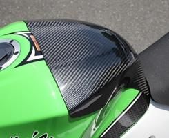 Magical Racing マジカルレーシング タンクカバー タンクエンド 素材:平織りカーボン製 ニンジャ250