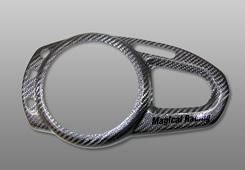 Magical Racing マジカルレーシング その他メーター関連 メーターカバー 仕様:Gシルバー Z1000 (水冷)