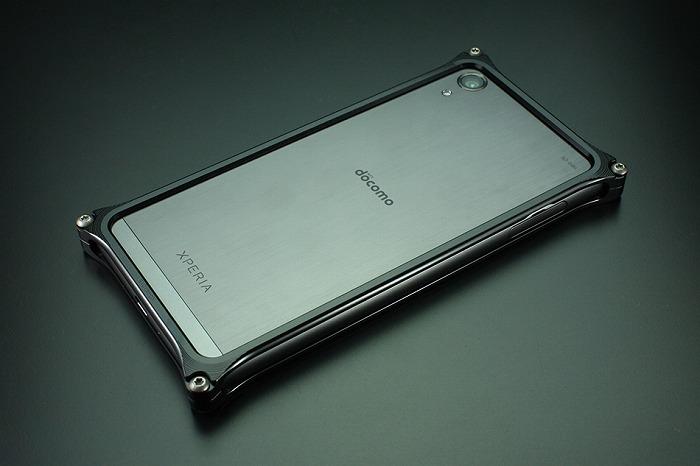 GILD design ギルドデザイン スマートフォンケース ソリッドバンパー for Xperia X [エクスペリア] Performance [パフォーマンス] カラー:ブラック Xperia X Performance