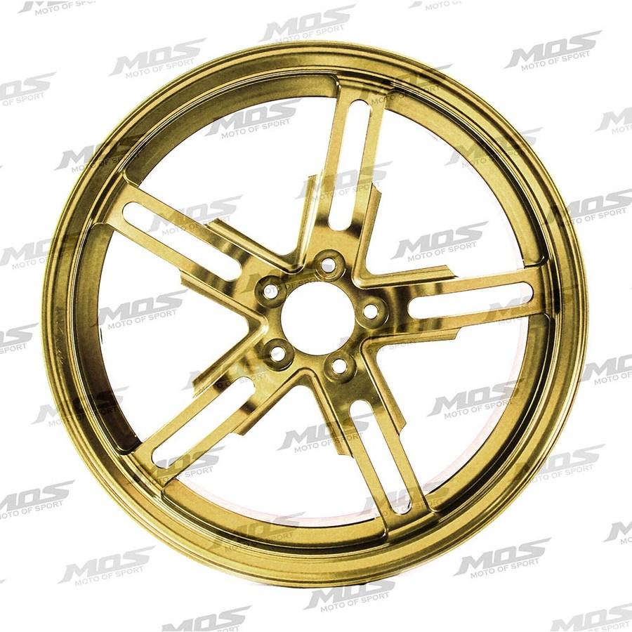 MOS モス ホイール本体 GX-05 CYGNUS X シリーズ 鍛造ホイール カラー:ゴールド BW'S125/BW'S X