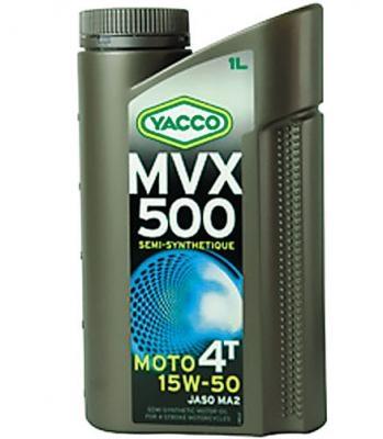 YACCOヤッコ 4サイクルオイル 激安 激安通販ショッピング 激安特価 送料無料 MVX-500 4T 15W-50 YACCO 1L ヤッコ