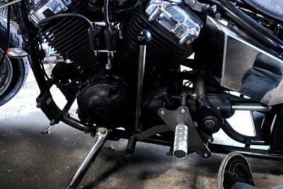 部品屋K&W ジョッキーシフトキット ミッドコントロール対応タイプ ドラッグスター400