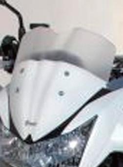 ERMAX アルマックス スクリーン Saute vent メーターバイザー カラー:スモーク Z1000 07-09