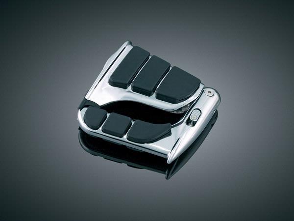 Kuryakyn クリアキン フットペグ・ステップ・フロアボード Swingwingペグ 汎用[雄型マウントの取り付けが可能な車両]