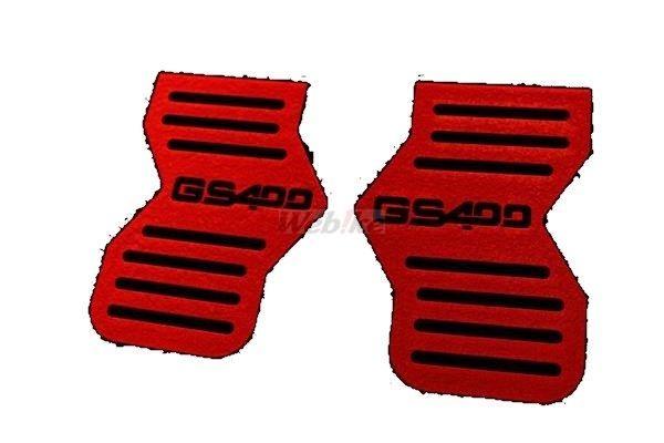 【クーポン配布中】ACP エーシーピー チヂミ塗装キャブサイドカバー GS400ロゴ GS400