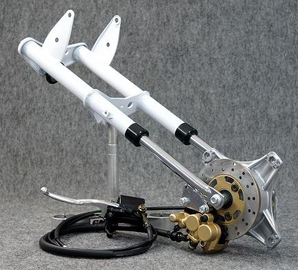 GM-MOTO ジーエムモト ダックス・シャリー用 油圧ディスク付純正タイプ フォークキット DAX [ダックス] CHALY [シャリー]