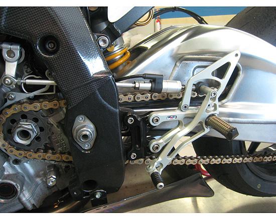 Robby Moto Engineering ロビーモトエンジニアリング バックステップ スタンダード-RSモデル YZF-R6(06-14)