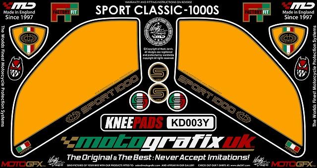 【ポイント5倍開催中!!】MOTOGRAFIX モトグラフィックス ステッカー・デカール ボディーパッド SPORT1000 S [スポーツ] SPORT1000 [スポーツ]