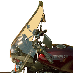 SECDEM セクデム スクリーン プルマン・ウインドシールド カラー:クリア VX800