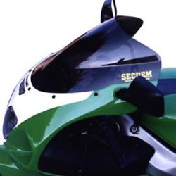 SECDEM セクデム ダブルバブル・スクリーン カラー:クリア ZX-7R
