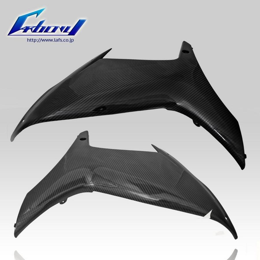 Carbony カーボニー サイドカバー ドライカーボン サイドカウル 仕上げ:ツヤ有り 仕様:平織り GSX-R600 2011-2015