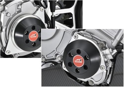 AGRAS アグラス ガード・スライダー レーシングスライダー ジュラコンカラー:ブラック YZF-R1 YZF-R1M