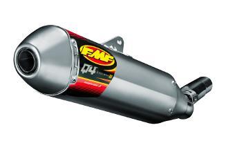 FMF エフエムエフ Q4 HEX スリップオンマフラー CRF450R