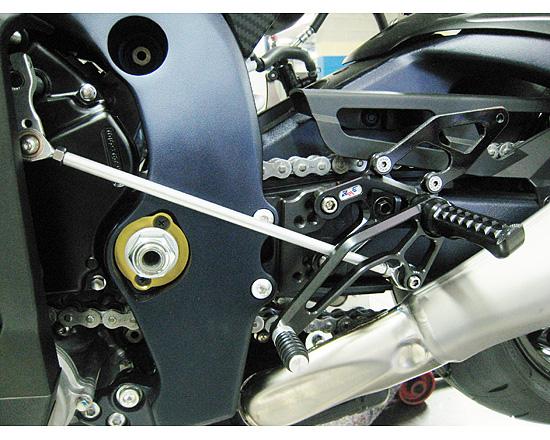 Robby Moto Engineering ロビーモトエンジニアリング バックステップ スタンダードモデル 逆チェンジ専用 GSX-R750 GSX-R600