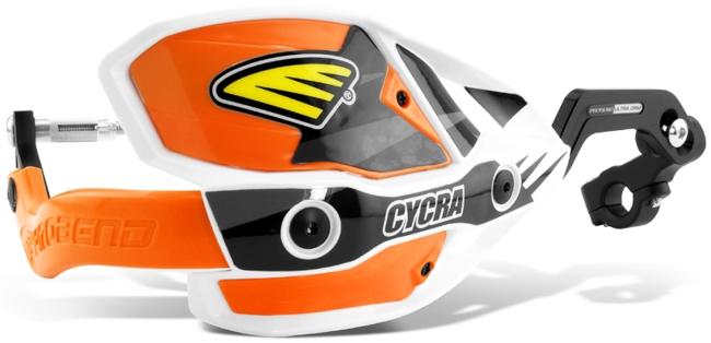 CYCRA サイクラ C.R.M.ウルトラハンドガードフルキット カラー:オレンジ ハンドルタイプ:スタンダードバー用