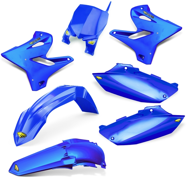 CYCRA サイクラ フルカウル・セット外装 パワーフローインテークラジエターボディキット カラー:ブルー YZ125 05-14 YZ250 05-14