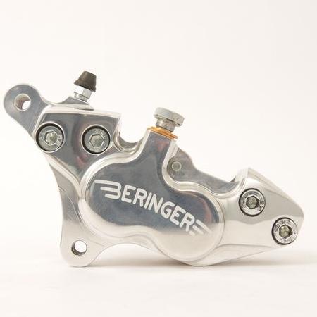 BERINGER ベルリンガー 4ピストンキャリパー カラー:ポリッシュ SR400(01-17)