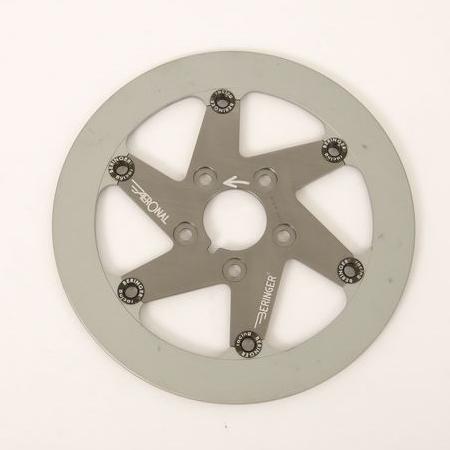 BERINGER ベルリンガー ディスクローター AERONAL DISC (エアロナルディスク) ステンレスローター カラー:チタン KX250F(06-15) KX450F(06-15)