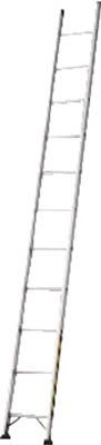 TRUSCO トラスコ中山 工業用品 ハセガワ アルミ1連はしご プロ用 LA1型 5.18m
