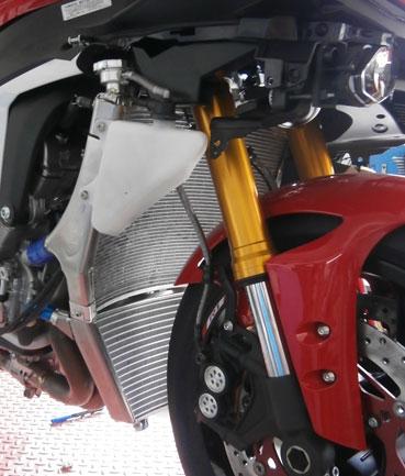 H2O Performance H2Oパフォーマンス コアガード SBK-EVO レーシングラジエター YZF-R1 YZF-R1M