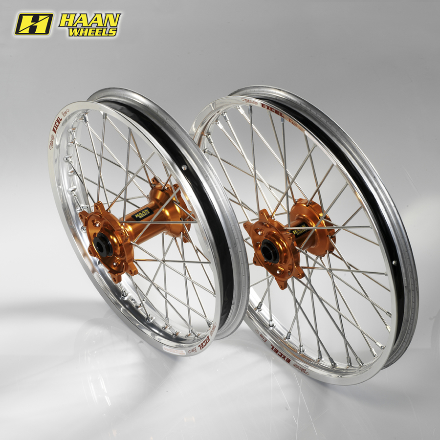 HAAN WHEELS ハーンホイール フロント・リアオフロードコンプリートホイール F17インチ-R14インチ SX 85 CC big wheel (12-14)