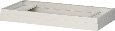 トラスコ中山 工業用品 TRUSCO U型壁面書庫 笠木 H60-100 W色