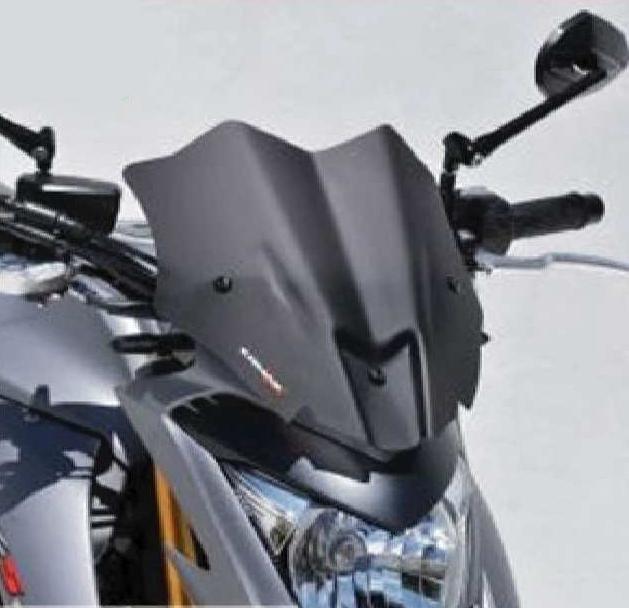 【ポイント5倍開催中!!】【クーポンが使える!】 ERMAX アルマックス スクリーン メーターバイザー カラー:ブラック GSX-S1000