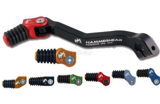 HammerHead ハマーヘッド ブレーキペダル・シフトペダル シフトペダル ラバーティップ オフセット:+20mm カラー:オレンジ CRF250L