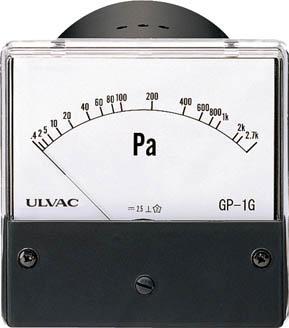 【ポイント5倍開催中!!】【クーポンが使える!】 TRUSCO トラスコ中山 工業用品 ULVAC ピラニ真空計(アナログ仕様) GP-1G/WP-01