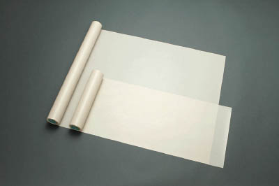 TRUSCO トラスコ中山 工業用品 チューコーフロー ファブリック 0.075t×300w×10m