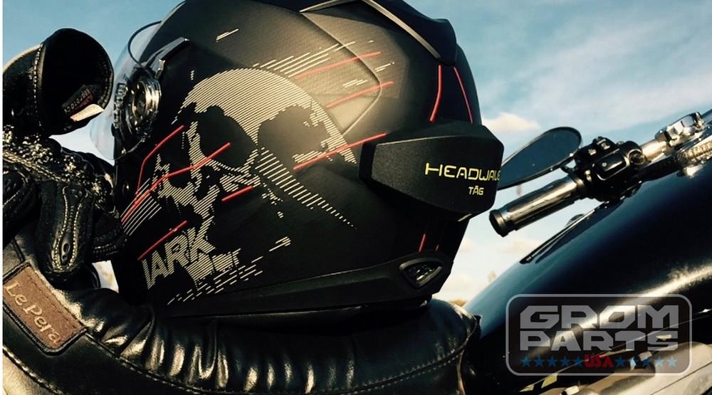 グロムパーツUSA グロムパーツユーエスエー その他電装パーツ ヘルメット用スピーカー/次世代音響システム HEADWAVE TAG