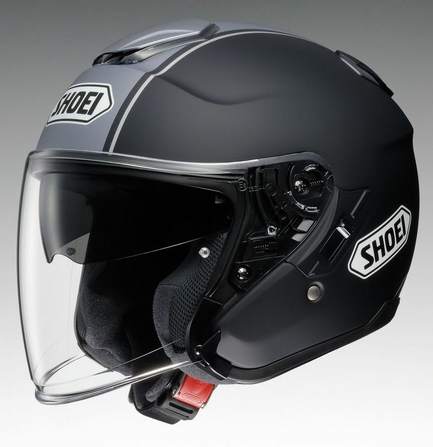 SHOEI ショウエイ ジェットヘルメット J-Cruise CORSO [ジェイ-クルーズ コルソ TC-10 BLACK/SILVER マットカラー] ヘルメット サイズ:S (55cm)