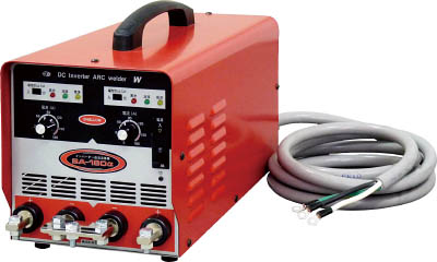 TRUSCO トラスコ中山 工業用品 スワロー 電機 インバーター直流溶接機 単相200V