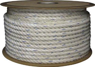 TRUSCO トラスコ中山 工業用品 ユタカ ビニロンロープドラム巻 16φ×100m