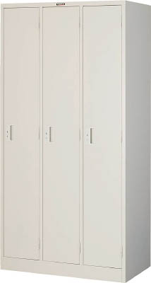 トラスコ中山 工業用品 TRUSCO シンプルロッカー 3人用 900X515XH1790 W色