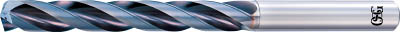 TRUSCO トラスコ中山 工業用品 OSG 超硬油穴付3枚刃メガマッスルドリル(内部給油タイプ)