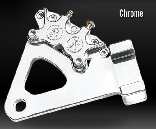 PerformanceMachine パフォーマンスマシン 4Pリアキャリパー&ブラケット (異径) 137×4B 仕様:クロム
