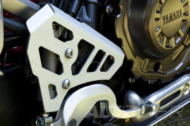 AltRider アルトライダー ガード・スライダー Rear Brake Master Cylinder Guard カラー:Silver Super Tenere XT1200Z 14-